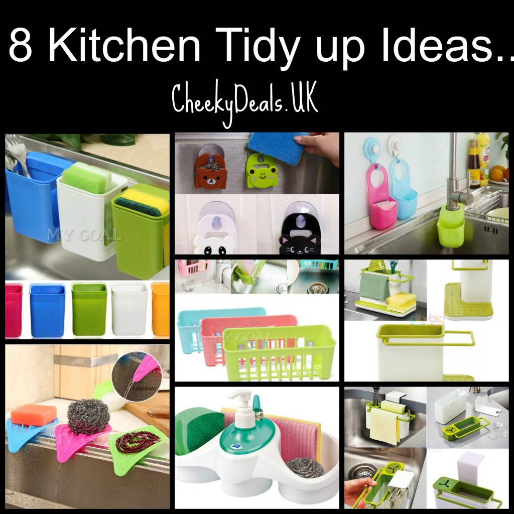 kitchen sink tidy up idea